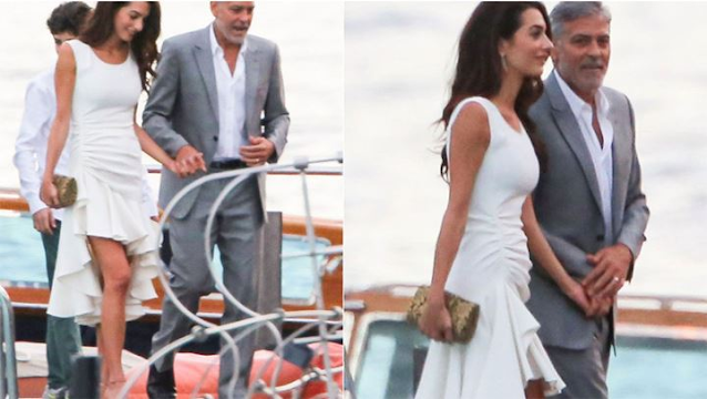 George Clooney – Amal Alamuddin: Διακοπές στην Ιταλία παρά τις φήμες περί χωρισμού!