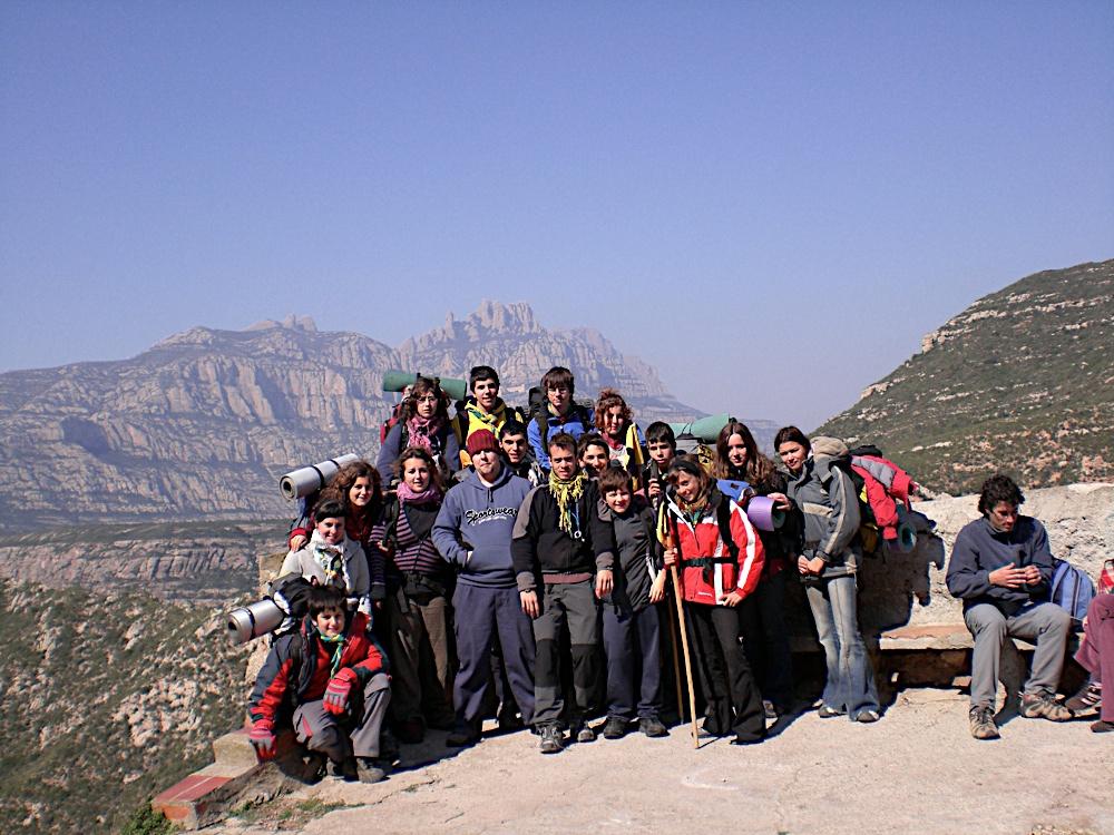 Sortida Sant Salvador de les espasses 2006 - CIMG8373.JPG