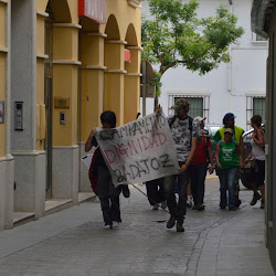 Campamento Dignidad Badajoz en Montijo