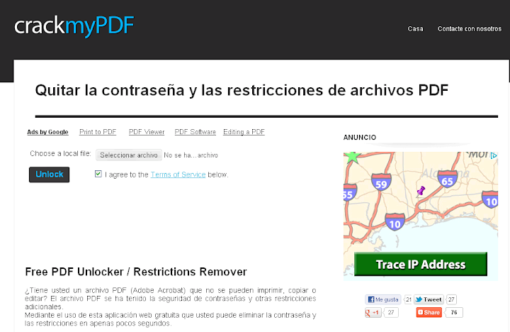 Copiar un texto de un documento PDF protegido Resuelto