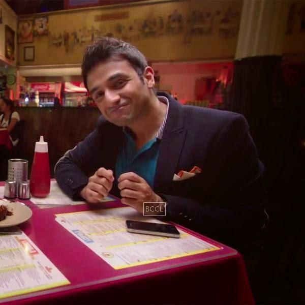 Vir Das in a still from the Bollywood romantic comedy Amit Sahni Ki List.