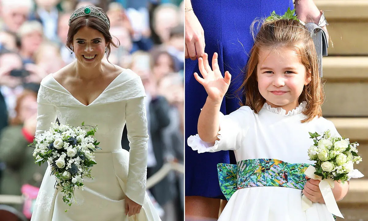 Princess Charlotte Shares This Special Connection with Princess Eugenie