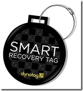 Dynotag Smart Luggage Recovery Tag