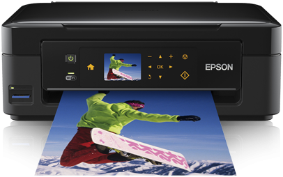Download Epson Expression Home XP-405 inkjet printer driver and set up without installation disc