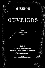 Cover of Saint Yves D'Alveydre's Book Mission des Ouvriers (1884,in French)