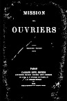 Mission des Ouvriers (1884,in French)