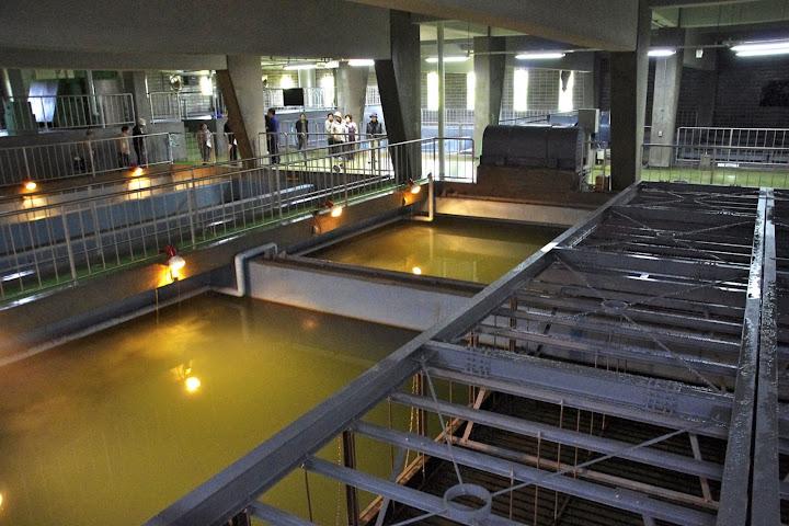 写真:水処理施設