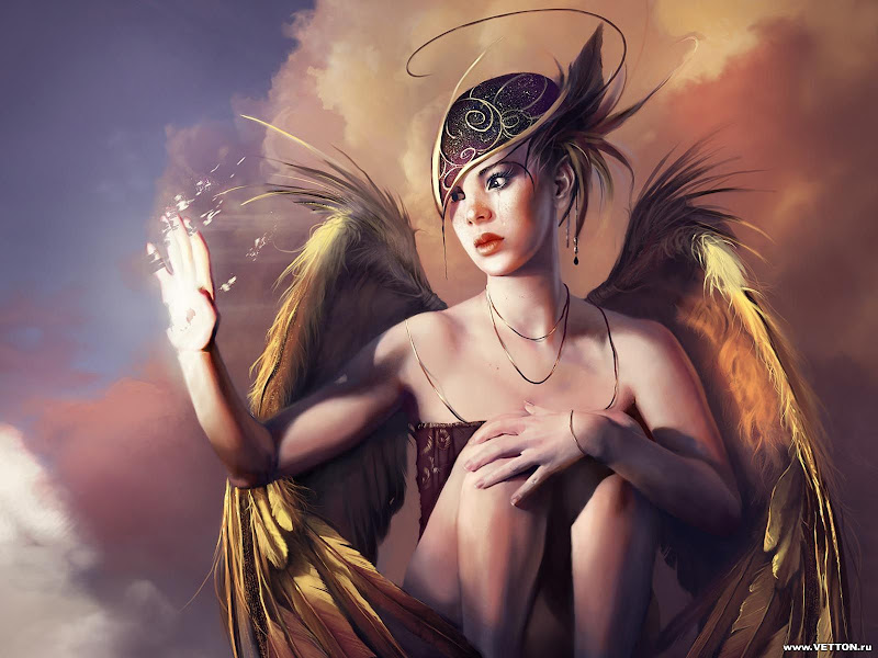 Pleasant Angel With Wings, Angels 4