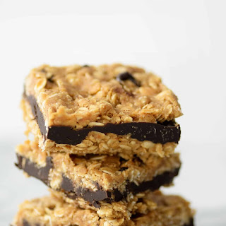 Dark Chocolate Almond Oatmeal Bars.