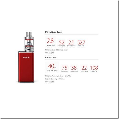 pre-order-authentic-smoktech-tc-vw-r40-kit-w-micro-basic-tank-black-aluminum-alloy-140w-1900mah-28ml-22mm-diameter