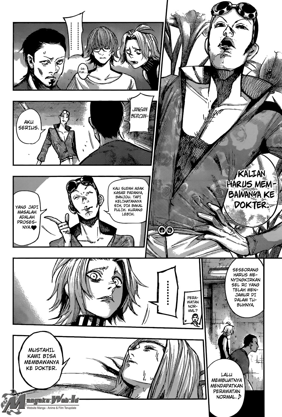 Tokyo Ghoul: Re Chapter 102-5