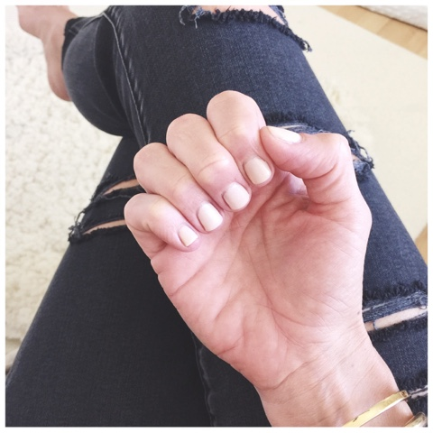 nude gel polish