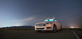 Ford : Une voiture sans volant ni conducteur dès 2021