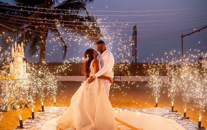 Singer Adekunle gold gets sweet anniversary message from wife Simi.