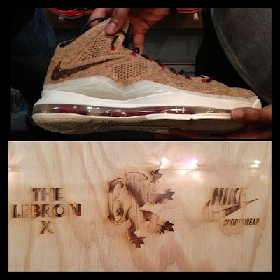 nike lebron 10 gr cork championship 4 01 First Look at LeBron X Cork Special Packaging and its Price!
