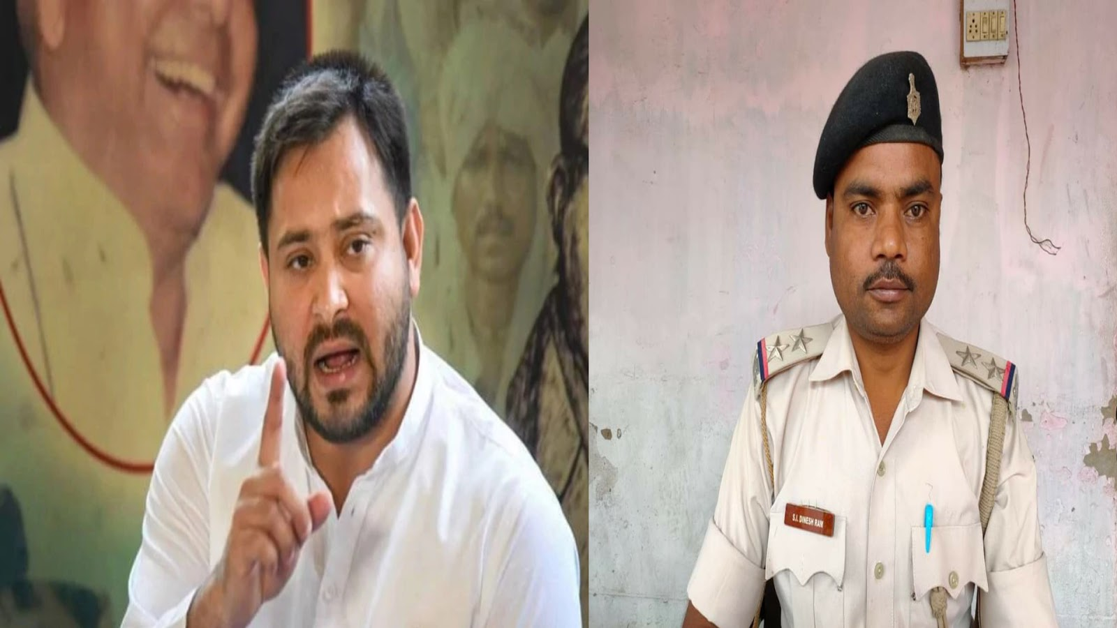 दारोगा की हत्या पर तेजस्वी बोले- पुलिस का एनकाउंटर कर रहे CM नीतीश तक पहुंच रखने वाले शराब माफिया