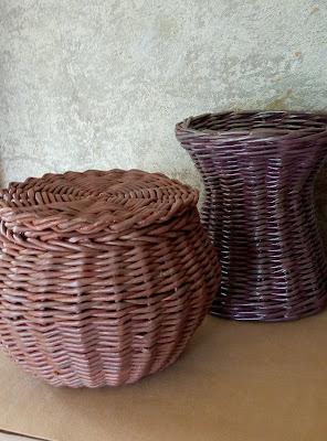 плетение из бумажной лозы МК, МК из газетных трубочек