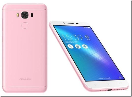 Asus Zenfone 3 Max ZC553KL Rose Pink Diperkenalkan, Menggoda Kaum Hawa