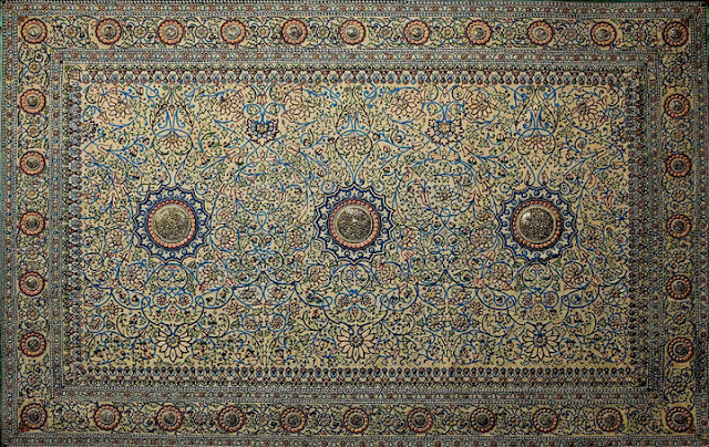 Baroda Pearl Carpet (Full View)