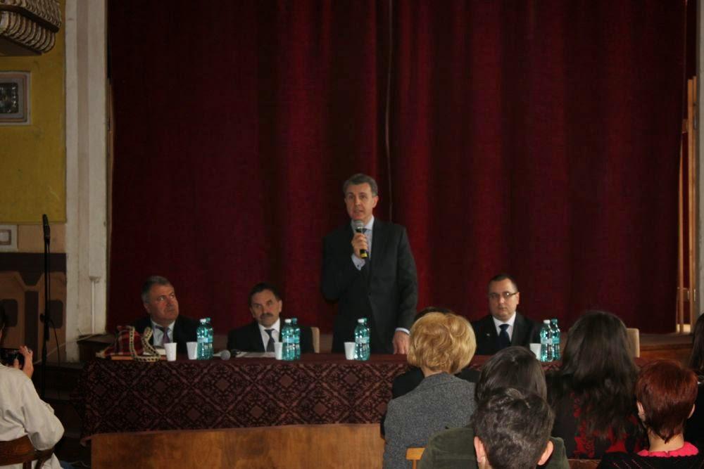 ASR Principele Radu - Întâlnire cu elevii Colegiului Naţional Dragoş Vodă din municipiul Sighetu Marmaţiei