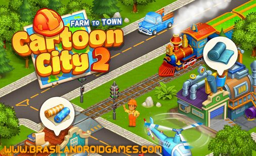 Cartoon City 2: Farm to Town Imagem do Jogo