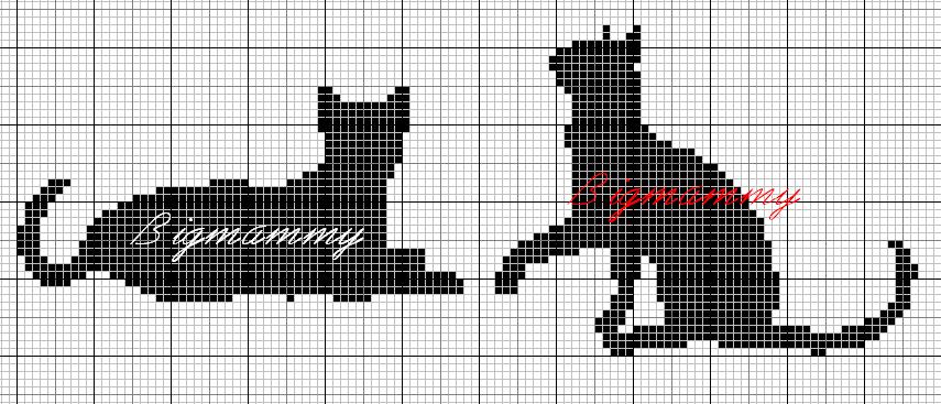 [siluetas+gatos+punto+de+cruz+monocromo++%284%29%5B2%5D]