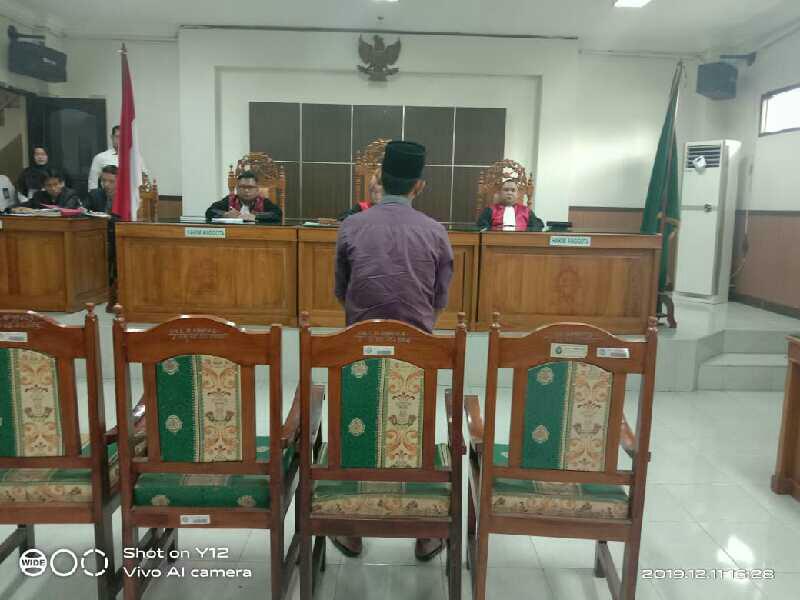 2 dari 4 Terdakwa Penyelundupan Narkotika Jenis Sabu 10 Kg Di Vonis Hakim PN Muba Hukuman Mati