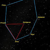 "Main stars of ""Winter Six"" constellations"