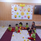 Laughter Day celebration by Playgroup Section ( 2017-18) at Witty World, Bangur Nagar