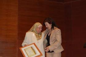 15 ANIVERSARIO del CCIV.  Socia de Honor, Lola Bañon.