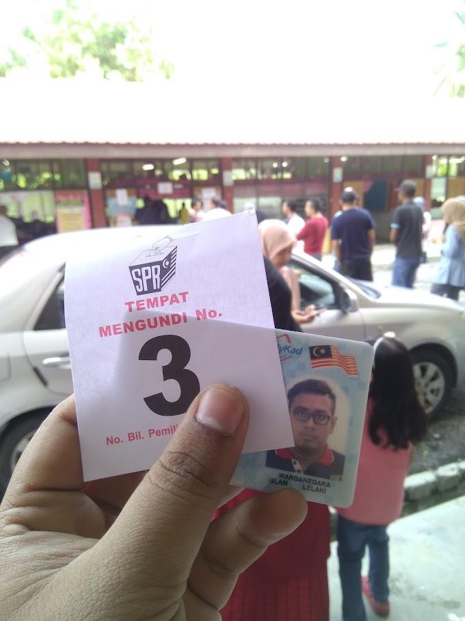 Pertama Kali Mengundi Dalam Pilihan Raya