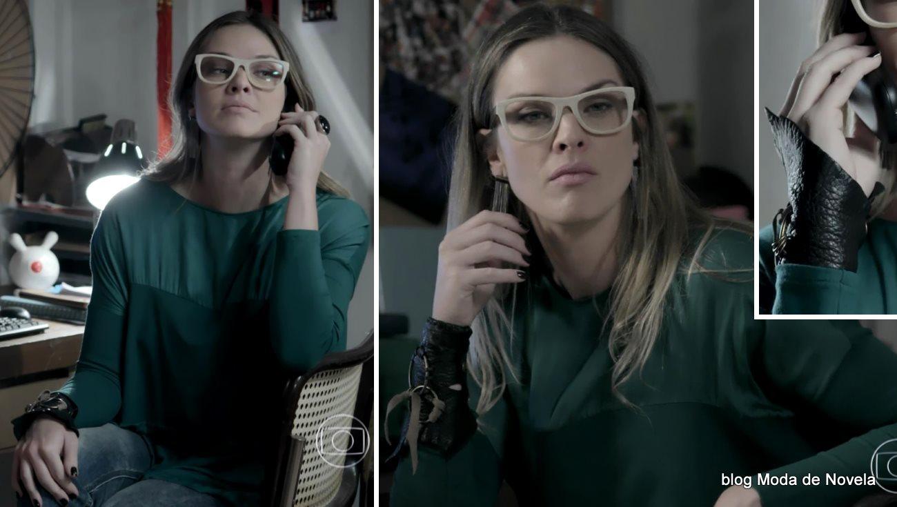 moda da novela Império, look da Érika dia 28 de novembro