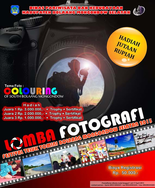 lomba fotografi, festival teluk tomini 2013, lomba fotografi teluk tomini, Bolsel, Bolaang Mongondow Selatan