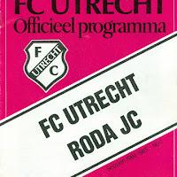 FCU Programmaboekjes 1984-85