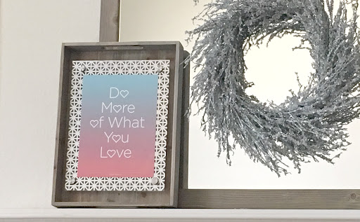 Diy floating acrylic frames with perforated metal accents the