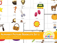 FREE Alphabet Picture Booklets (CUSNPOLH)