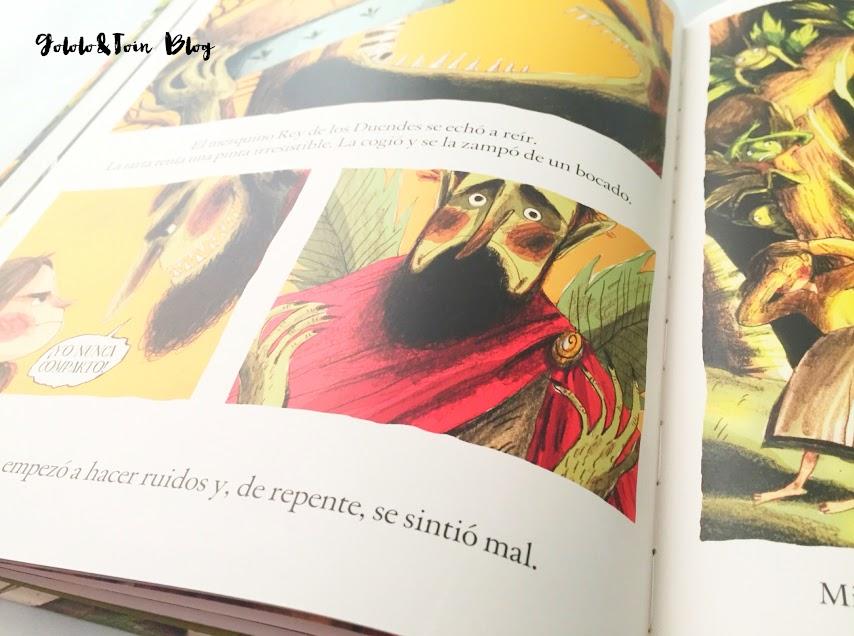 sm-literatura-infantil-album-ilustrado-cuentos-compartir-valores-imelda-y-el-rey-de-los-duendes