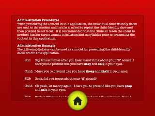 I Dare You Articulation Info Page