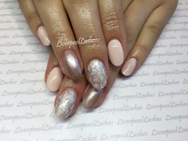 Liverpoollashes Beauty Blog My Work Two Sets Of Contradiction Nails