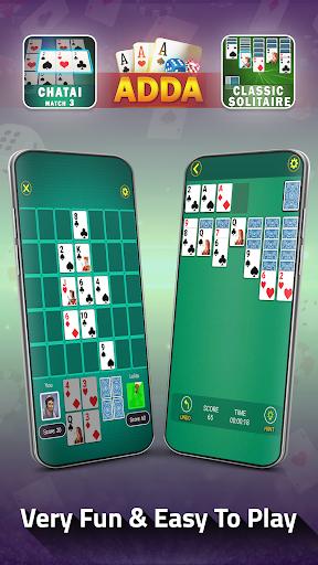 Adda : Rummy , Callbreak ,Solitaire & 29 Card Game modavailable screenshots 4
