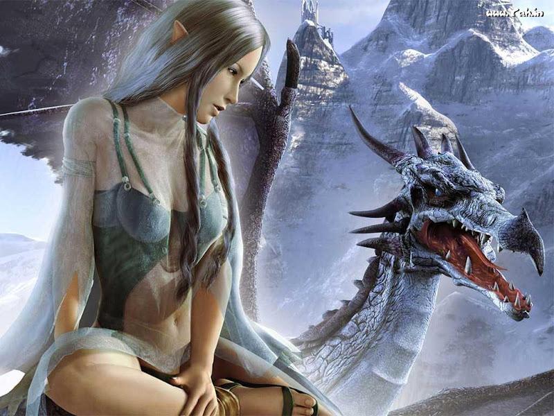 Elf And Dragon, Dragons