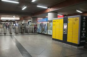 Entrega de paquetería Correos en estaciones de Cercanías