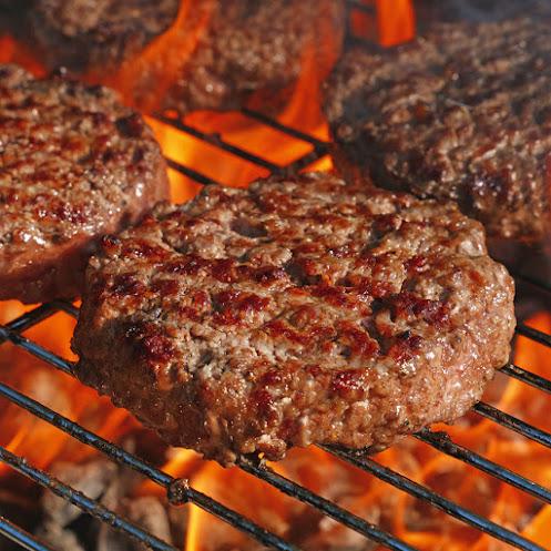 """Abbildung Rindfleischfrikadelle """"Burger Art"""""""