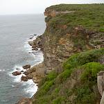 Waves breaking below Coast Track (34460)