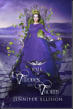 Fall of Thrones and Thorns  (Threats of Sky and Sea #3)