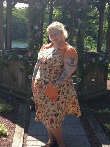 452c778159b75 Sailor Jerry Tattoo Dress | Sew Misunderstood: Fatshion for Wayward ...