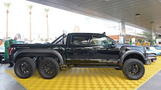 The Hennessy VelociRaptor 6x6 offroad