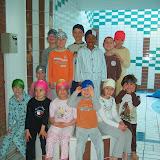 A la piscine en pijama (1ère et 2ème A)
