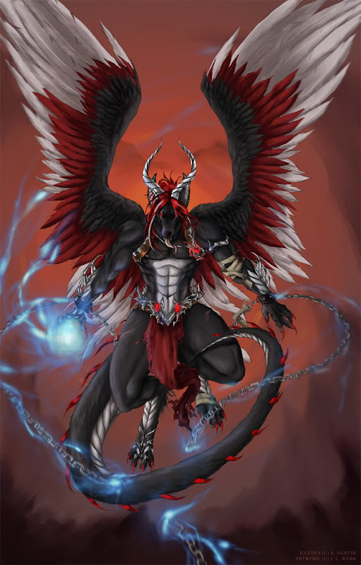 Angel Dragon, Dragons