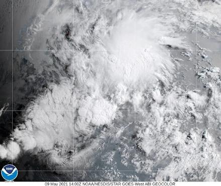 Η πρώτη τροπική καταιγίδα στον Ανατολικό Ειρηνικό Ωκεανό σχηματίστηκε νωρίτερα από ποτέ για την εποχή